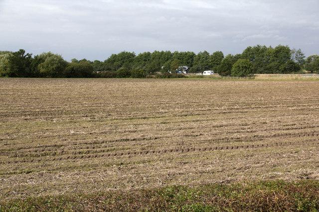 Farmland by the M42