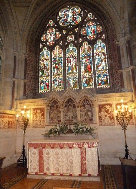 St John the Evangelist, Sutton Veny: altar