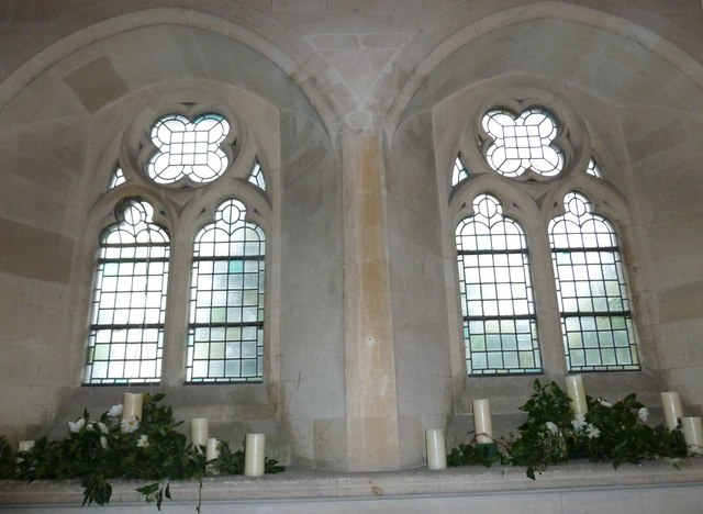 Inside St John the Evangelist, Sutton Veny (v)