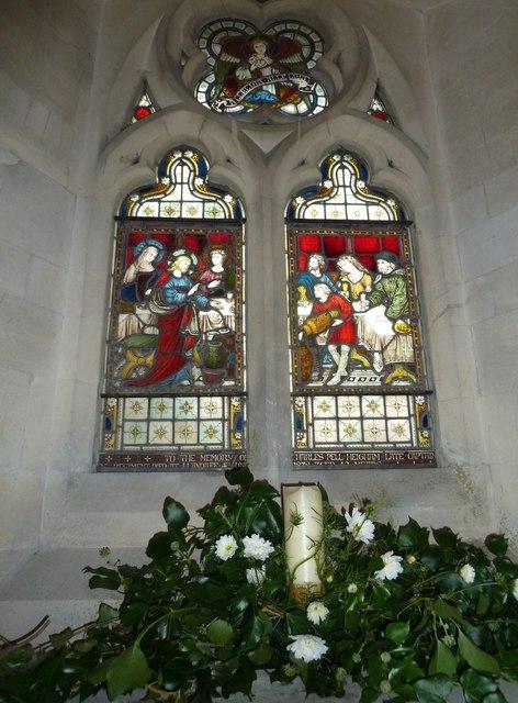St John the Evangelist, Sutton Veny: stained glass window (III)