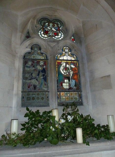 St John the Evangelist, Sutton Veny: stained glass window (VI)
