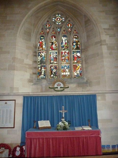 St John the Evangelist, Sutton Veny: altar (B)