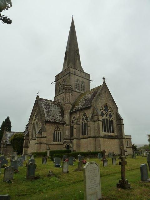 St John the Evangelist, Sutton Veny:  churchyard (1)