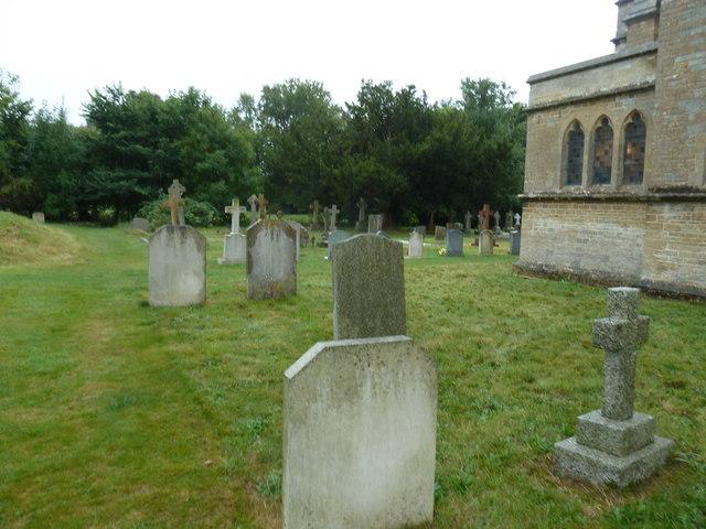St John the Evangelist, Sutton Veny:  churchyard (2)