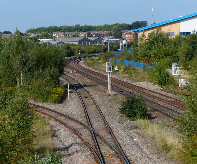Wigston South junction