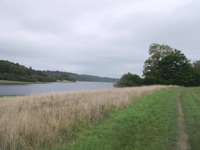 Round reservoir Route to Bryant's Farm