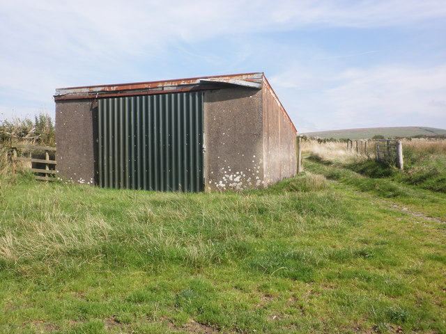 Farm building on Wallover Down