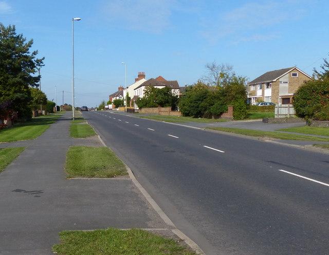 Welford Road in Wigston