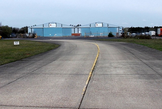 PremiAir Aviation building at Blackbushe Airport