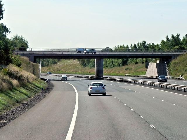 M6 Toll Road, Tamworth Road Bridge