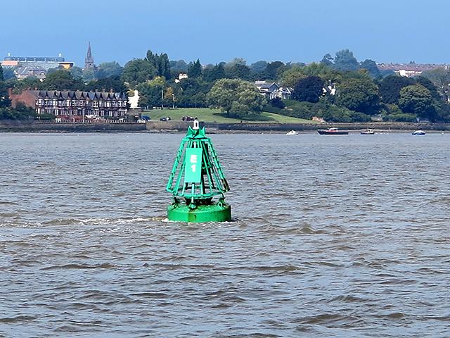 Navigation buoy, River Mersey