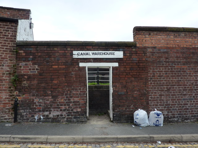 Canal Warehouse entrance