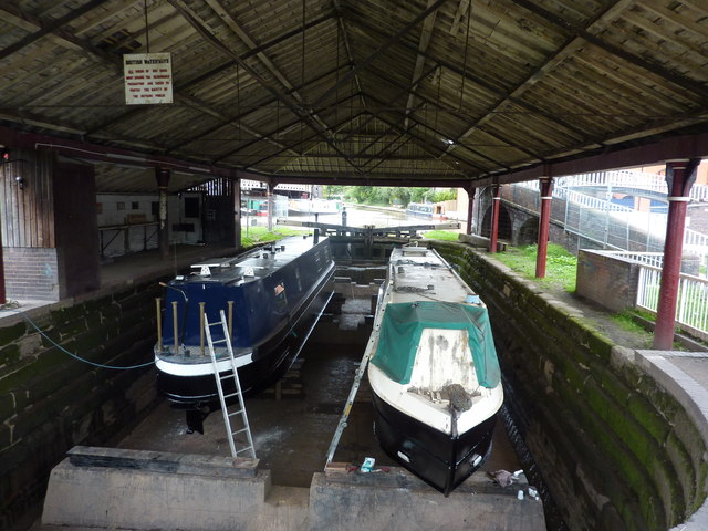 Dry Dock, Shropshire Union Canal, Chester
