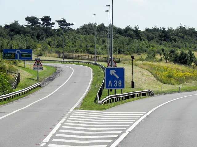 M6 Toll Road, Exit at Junction T3