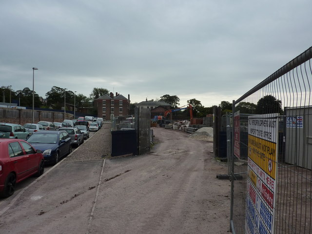 Building site, Chester