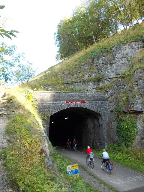 Litton Tunnel on The Monsal Trail