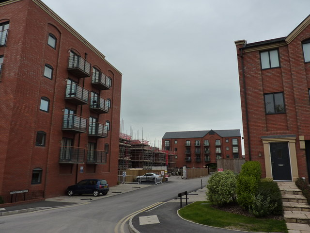 Tower Wharf, construction, Chester