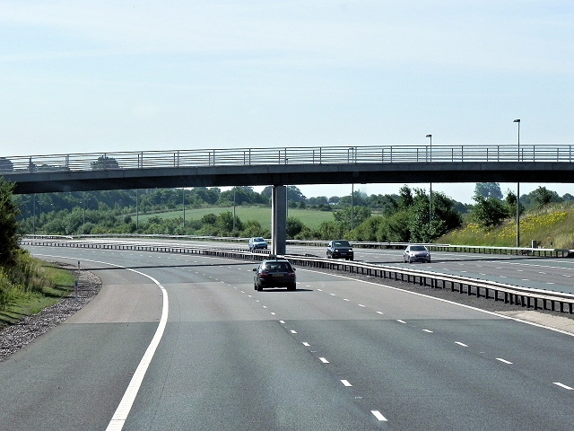 M6 Toll Road, Langley Mill Farm Bridge