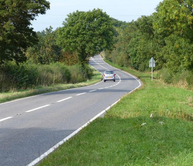 Welford Road towards Kilby Bridge