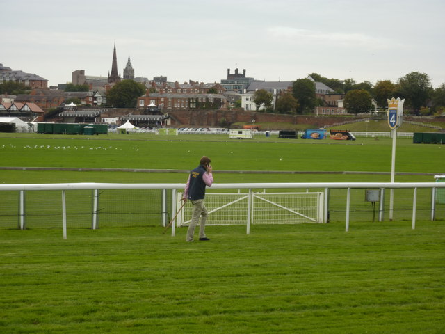 Racecourse under inspection