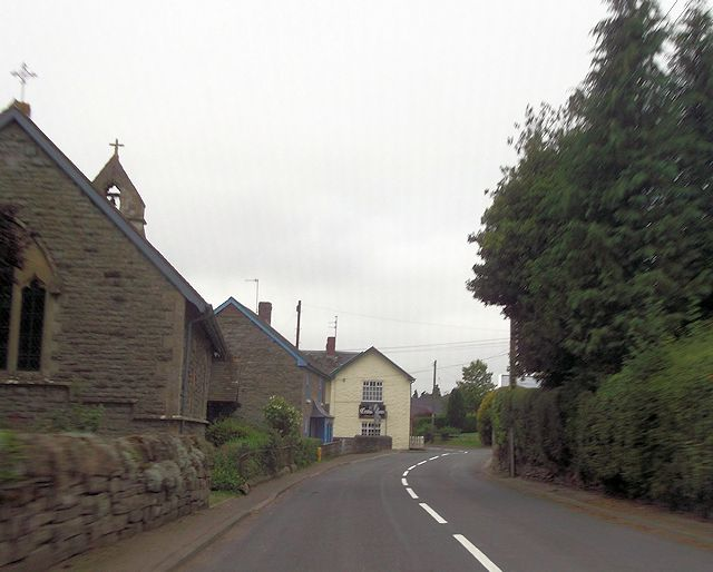 B4368 through Clunton