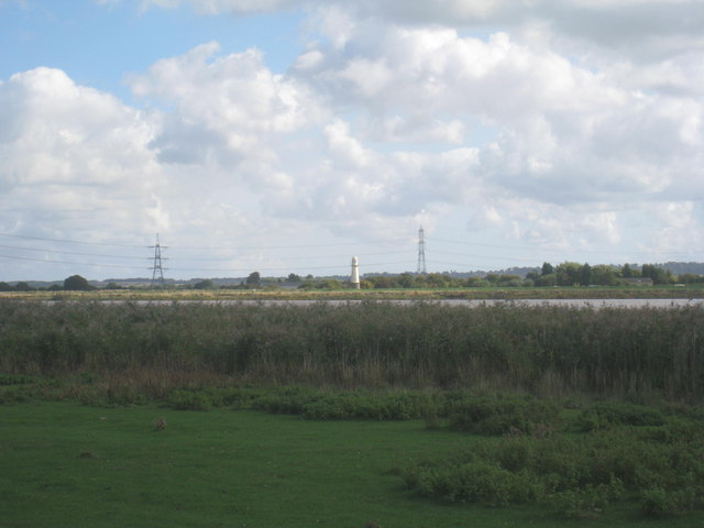 View across the Ouse to Whitgift Lighthouse