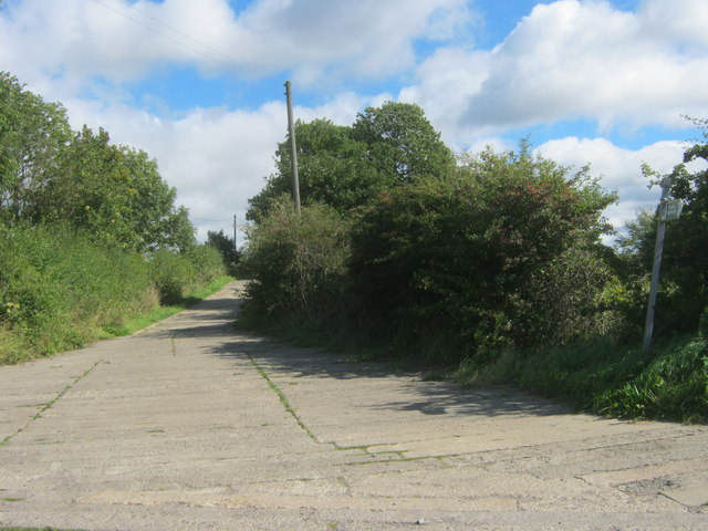 Public bridleway off Norburn Lane