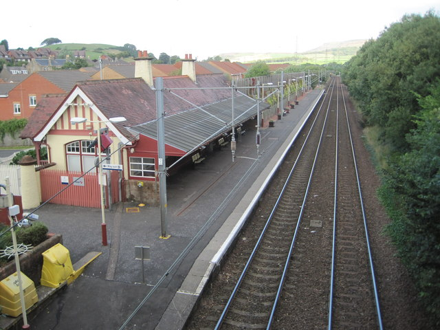 West Kilbride railway station, Ayrshire