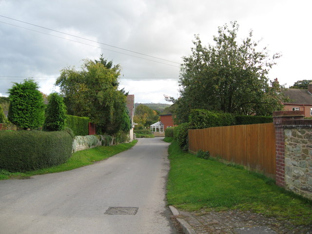 Lane from Woolston 2-Wistanstow, Shropshire