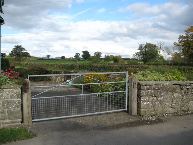 Lane from Woolston 3-Wistanstow, Shropshire