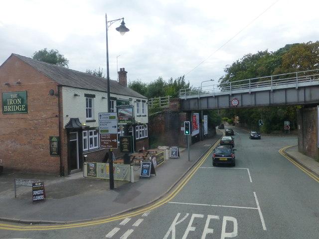 The Iron Bridge pub on Chester Road