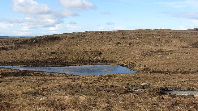 A moorland lochan