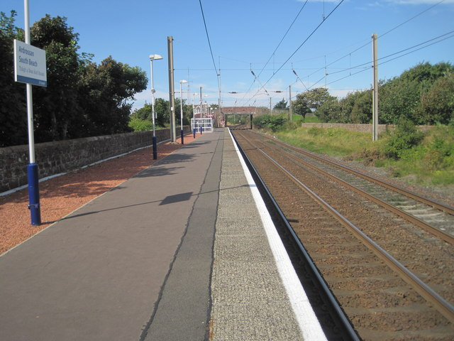 Ardrossan South Beach railway station, Ayrshire