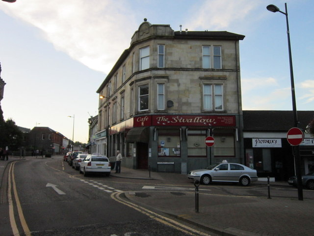 The Swallow Cafe on Argyll Street, Dunoon