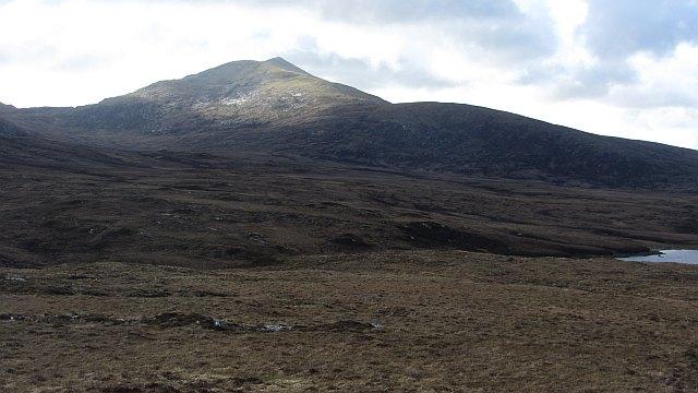View of Beinn Mhòr