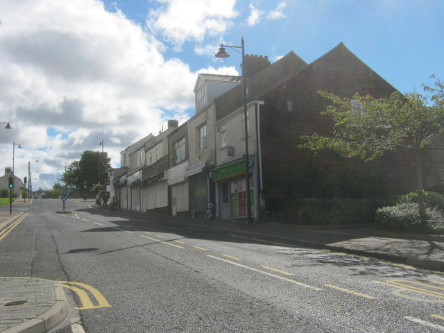 Shops in Front Street, Sacriston