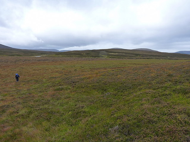 The Feshie valley and Sròn na Ban-righ