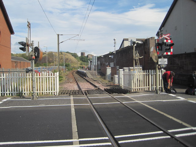 Ardrossan Town railway station, Ayrshire