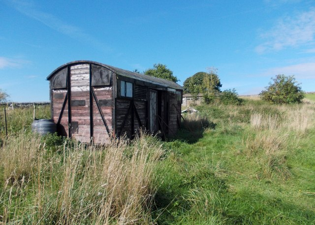 Railway goods wagon or allotment shed?