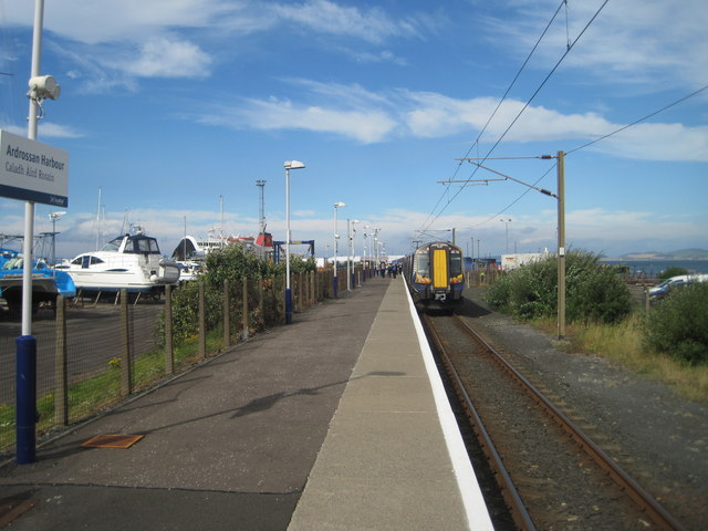 Ardrossan Harbour railway station, Ayrshire