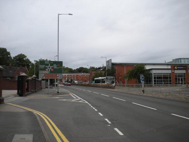 Barracks Road, Newcastle under Lyme