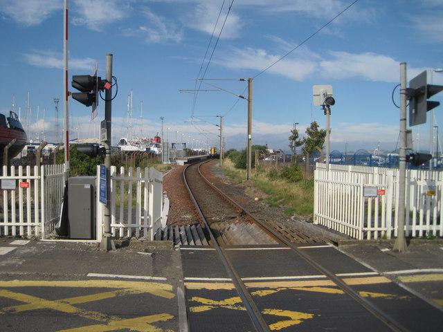 Ardrossan Harbour railway station, Ayrshire