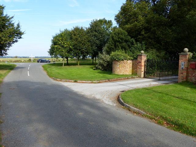 Driveway to Foston House