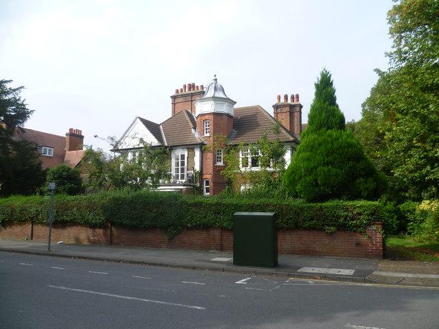 House in Lovelace Road, Surbiton