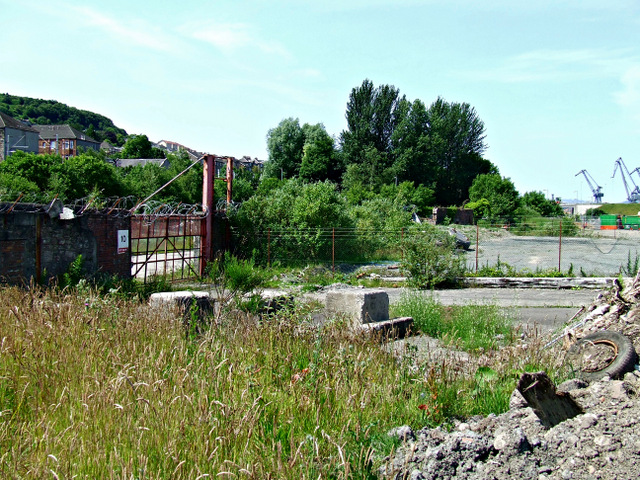 Former Kingston and Glen shipyards site
