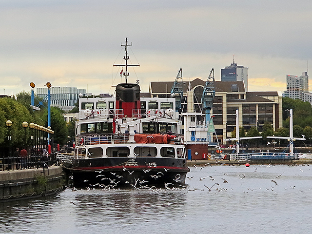 Mersey Ferry at Salford Quays