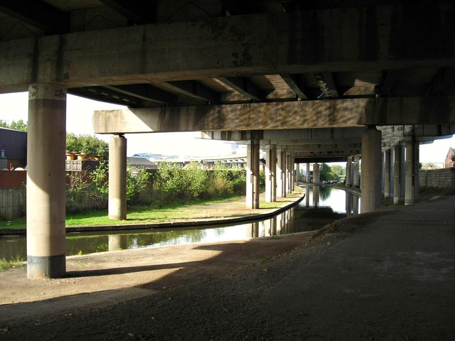 Old Main Line and the underbelly of the M5