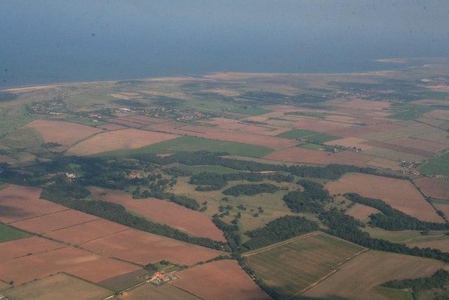 Heacham Park, aerial 2013