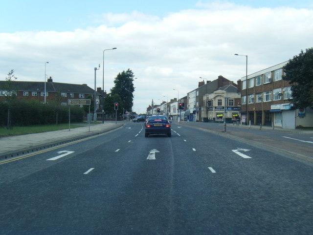 Cleethorpe Road at Victor Street
