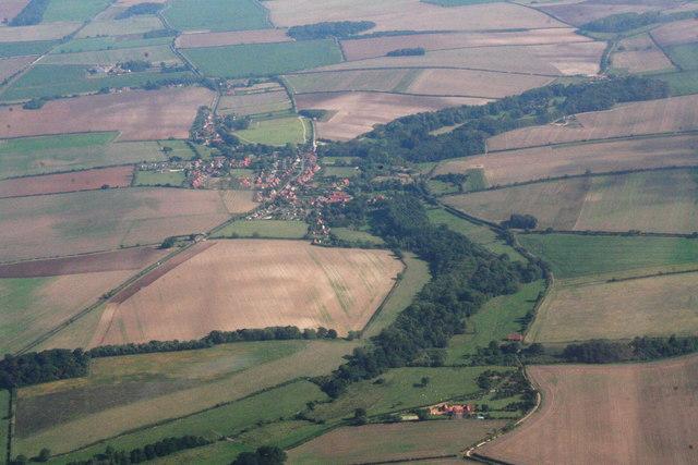Sedgeford, aerial 2013